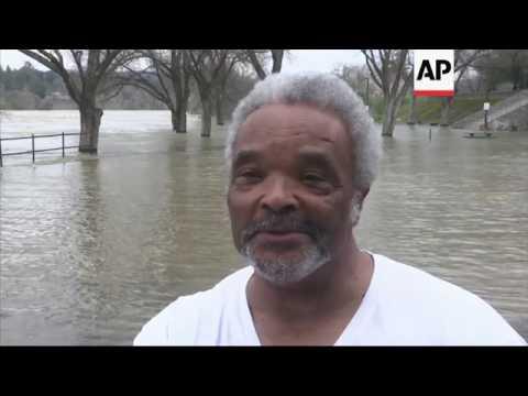 Calif. Officials Rush to Drain Lake, Storm Looms