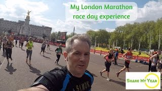 My London Marathon race day experience | ShareMyYear