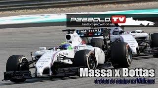 Felipe Massa x Valtteri Bottas e Ordens de equipe da Williams - Malásia GP
