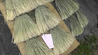 Japanese Farmer's Rice Straw