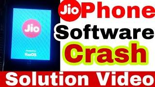 जियोफोन सॉफ्टवेयर प्रोब्लम ऐसे ठीक करें, JioPhone Hard Reset, Solve Software Crash Problem,