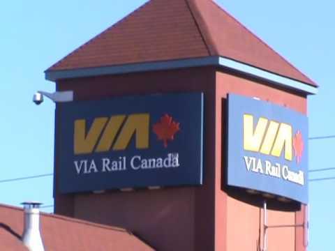 Along The Lakeshore East: GO Transit and VIA Rail