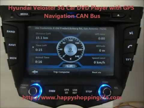 hyundai veloster gps навигатор