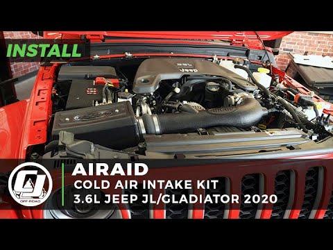 2020 Jeep Gladiator Install | Airaid MXP Series Cold Air Intake Kit