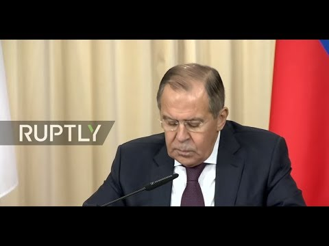 LIVE: Lavrov and Japanese FM hold joint press conference in Moscow