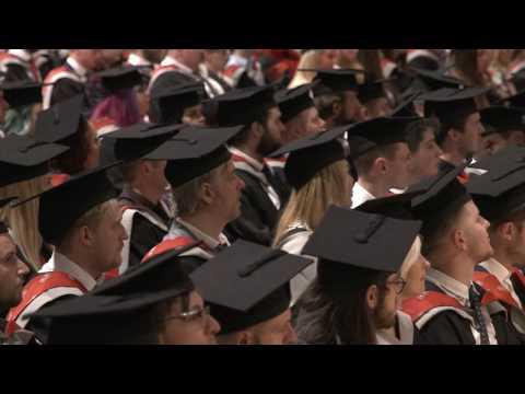 UCLan Graduation Ceremony: Wednesday 12 July 2017 – Afternoon