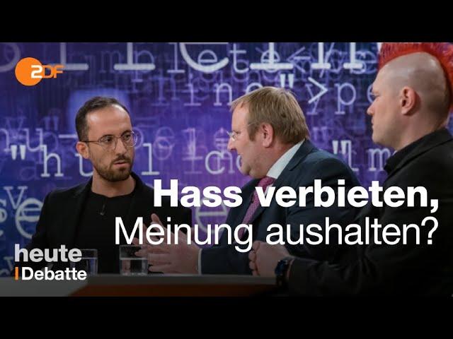 Wut und Hass im Netz: Wo endet die Meinungsfreiheit?   maybrit illner