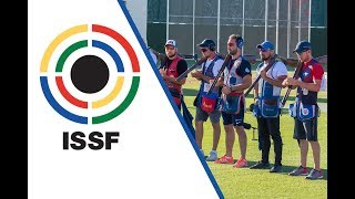 Skeet Men Final - 2018 ISSF World Cup Stage 5 in Siggiewi (MLT)