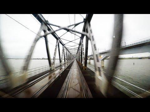 4K Cab Ride NL Amsterdam CS – Leiden – Rotterdam CS – Roosendaal (VIRM 8652) / 07-10-2017