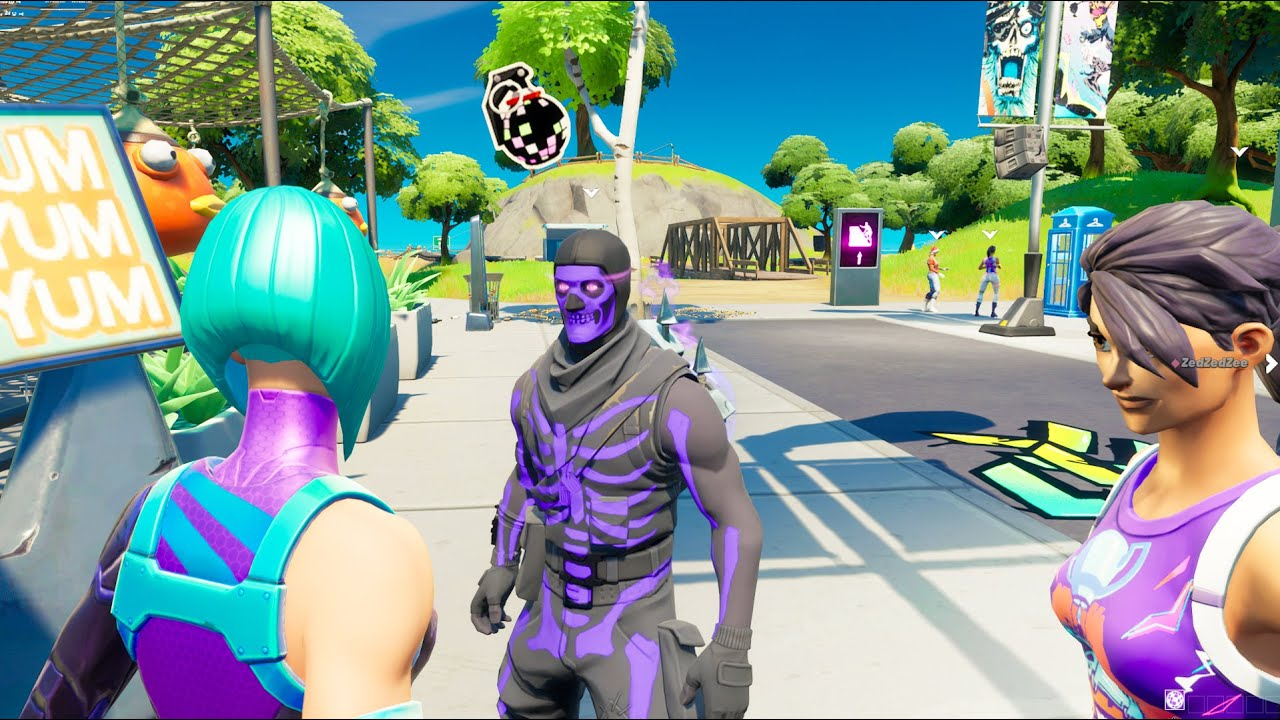 Going Into Party Royale On A Secret Account (STACKED)
