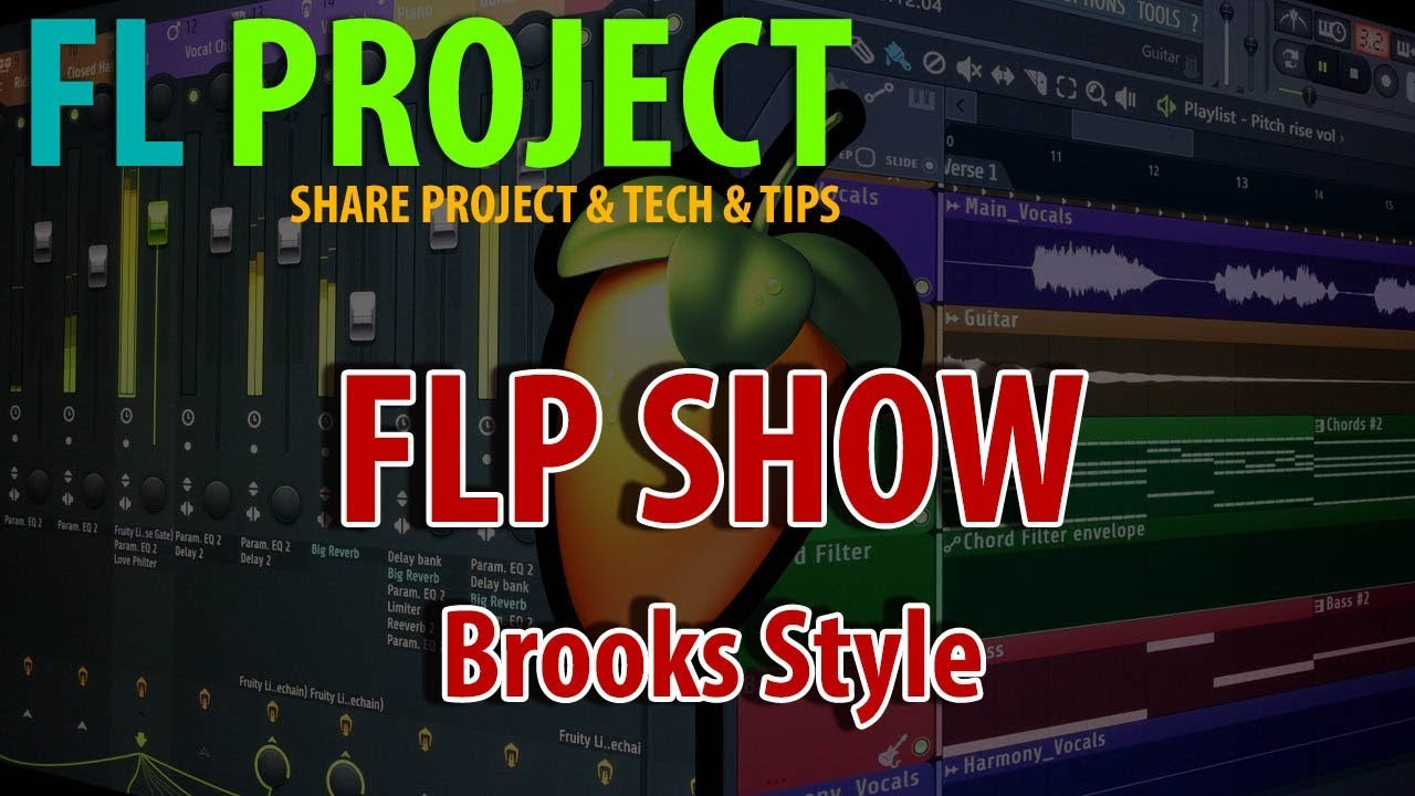 Professional FREE Brooks Style FLP 2019 | FLP FREE DOWNLOAD | FL STUDIO