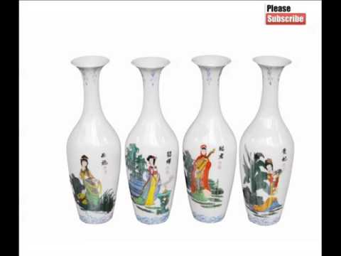 Ancient Chinese Porcelain Vase | Decorative Picture Set Of Rare & Beautiful Arts