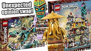 LEGO Ninjago Spring 2021! Season 14 vs. Ninjago City Gardens QUICK REACTION!