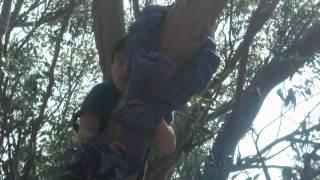 Tutorial para colgar una tela en un árbol Parte 2