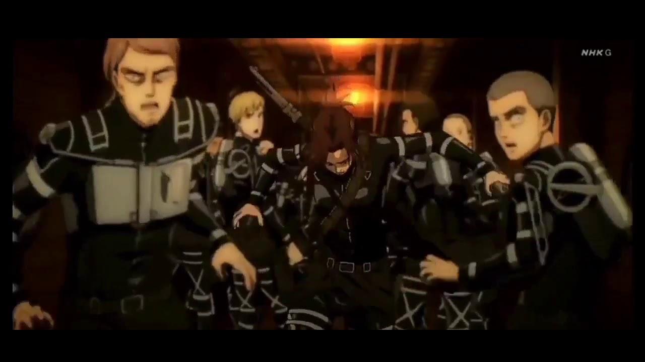 Download Sasha Death scene CUT   Attack on Titan Season 4 Episode 8