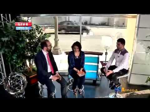 "Vardan Mkrtchyan on US Armenia ""Good Morning"" show"