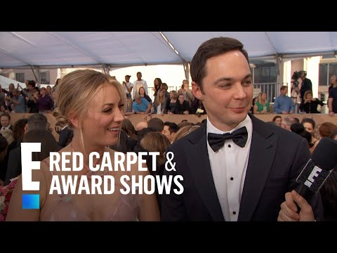 Are Kaley Cuoco and Jim Parsons Fighting?  E Red Carpet & Award Shows