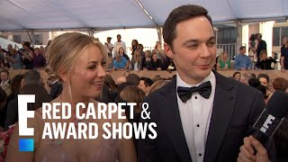 Are Kaley Cuoco and Jim Parsons Fighting? | E! Live from the Red Carpet