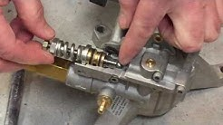 How a pressure washer unloader valve works (with cut-away view)