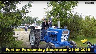 Fordson en Ford in Slochteren