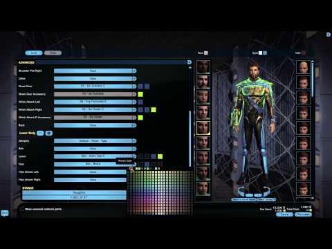 Kit and Armour Customisation in the Tailor | Tribble - Season 9 | Star Trek Online