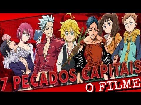 7 PECADOS CAPITAIS o FILME ( Nanatsu no Taizai 2018 ...
