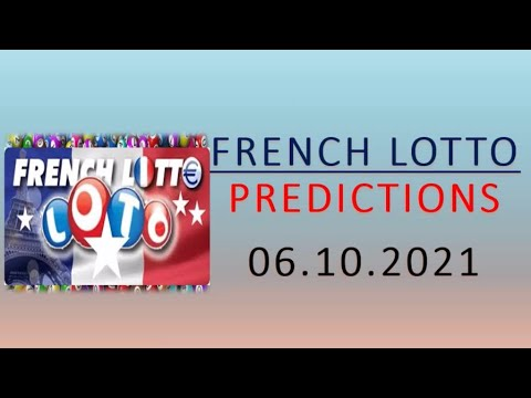06.10.2021 | French Lotto Predictions for today | Boom 💥