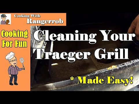 Cleaning Your Traeger Grill, Made Easy   Cooking With RangerRob