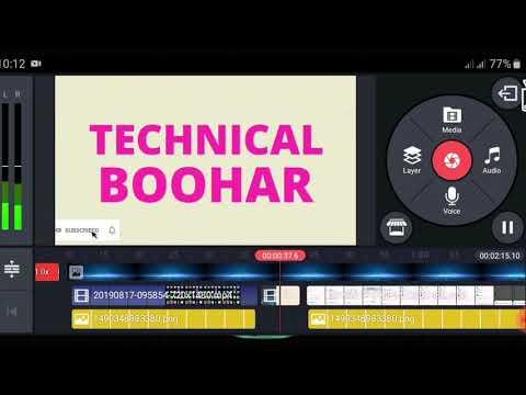 How Video Edit For YouTube || Kinemaster Editing Videos Clips || Urdu Hindi