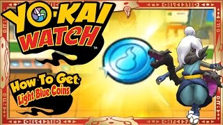Yo-Kai Watch - How To Get Infinite Light Blue Coins & RARE Shadow Venoct EASY! [Tips & Tricks]