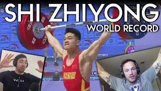 Shi Zhiyong World Record   Seb \u0026 Zack T REACTION   Asian Championships