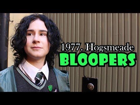 1977. Hogsmeade | BLOOPERS