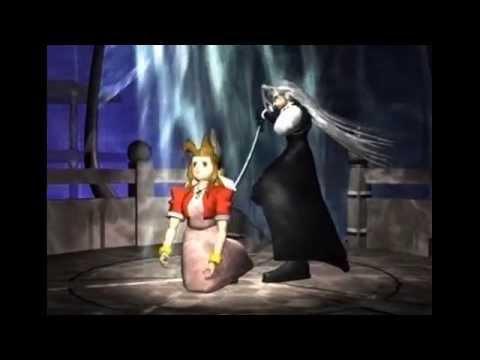 Final Fantasy VII: Sephiroth kills Aeris