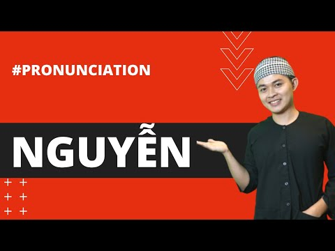 """HOW TO PRONOUNCE """"NGUYEN"""" CORRECTLY IN SAIGON DIALECT - Learn Southern Vietnamese"""