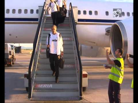 Real Madrid are already in Spain.