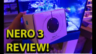 Aqua Illumination Nero 3 Review \\\\ Our Favorite Reef Tank Wave Maker This Year