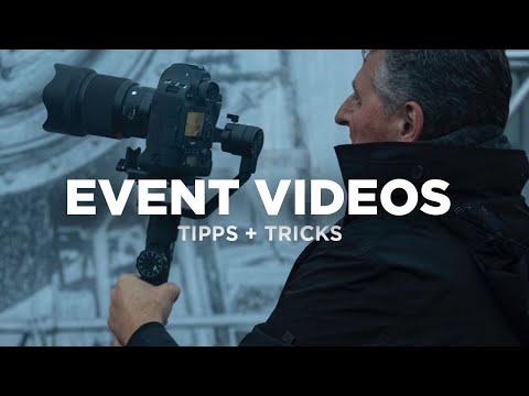 10 Tipps Für Das Filmen Von Eventvideos Und Aftermovies