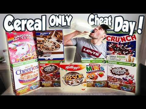 CEREAL ONLY CHEATDAY 7,500+ CALORIES | REVIEWS & RATINGS