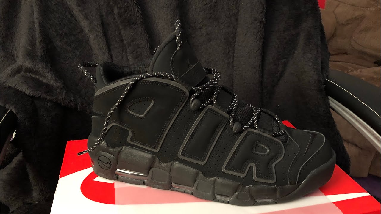Nike Air More Uptempo  Reflective  (Review + On Feet) - YouTube fcb61a1b1