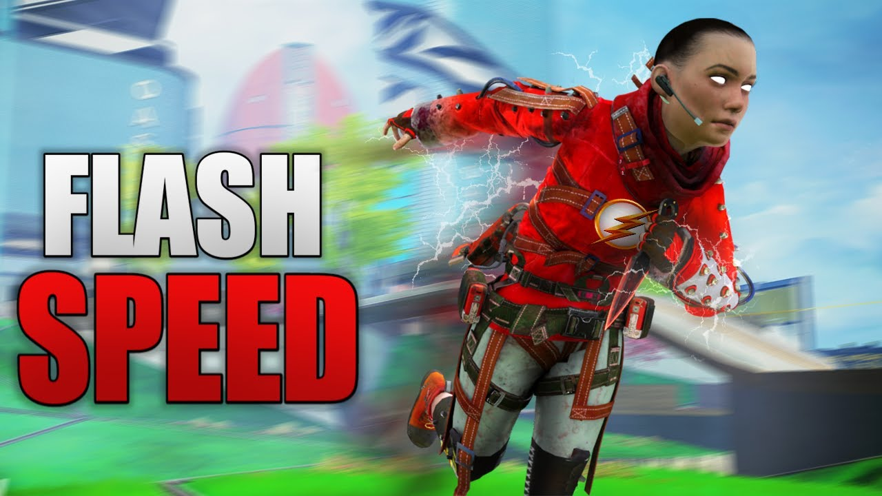 THE FLASH OF APEX LEGENDS
