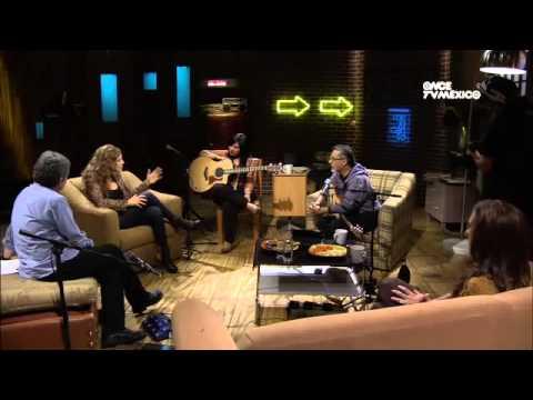 CARLA MORRISON EN EL TIMPANO DE CANAL ONCE TV MÉXICO