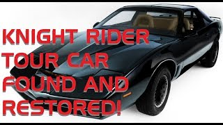 Restoring the Knight Rider Tour Car