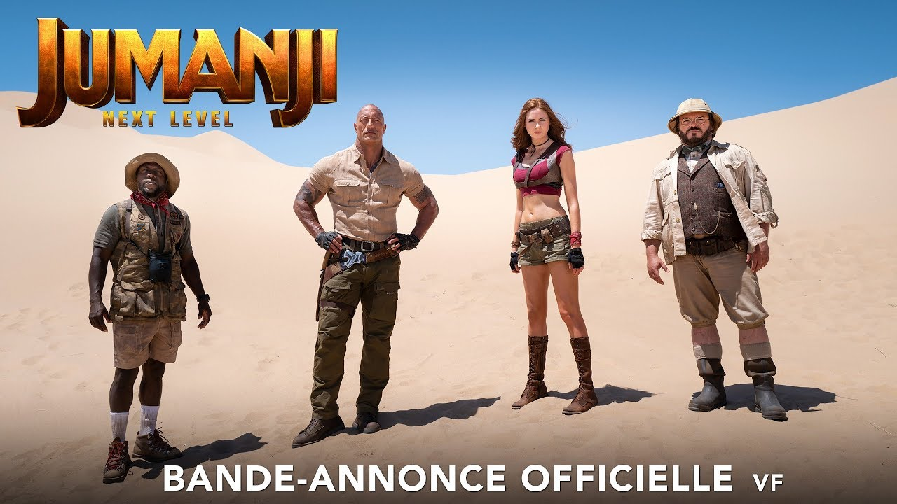Jumanji : Next Level - Bande-annonce Officielle - VF