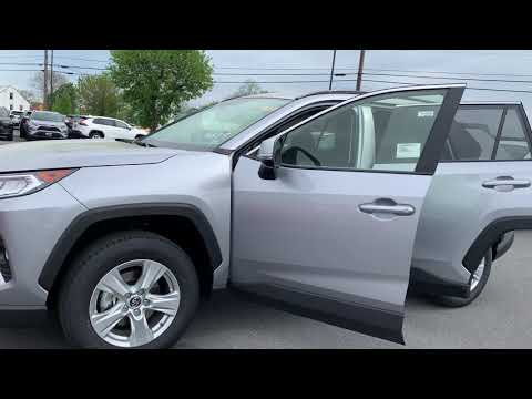 New 2019 Toyota RAV4 XLE SUV AWD TK714