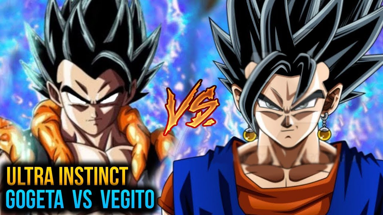 dragon ball super ultra instinct gogeta vs vegito ui fusion battle