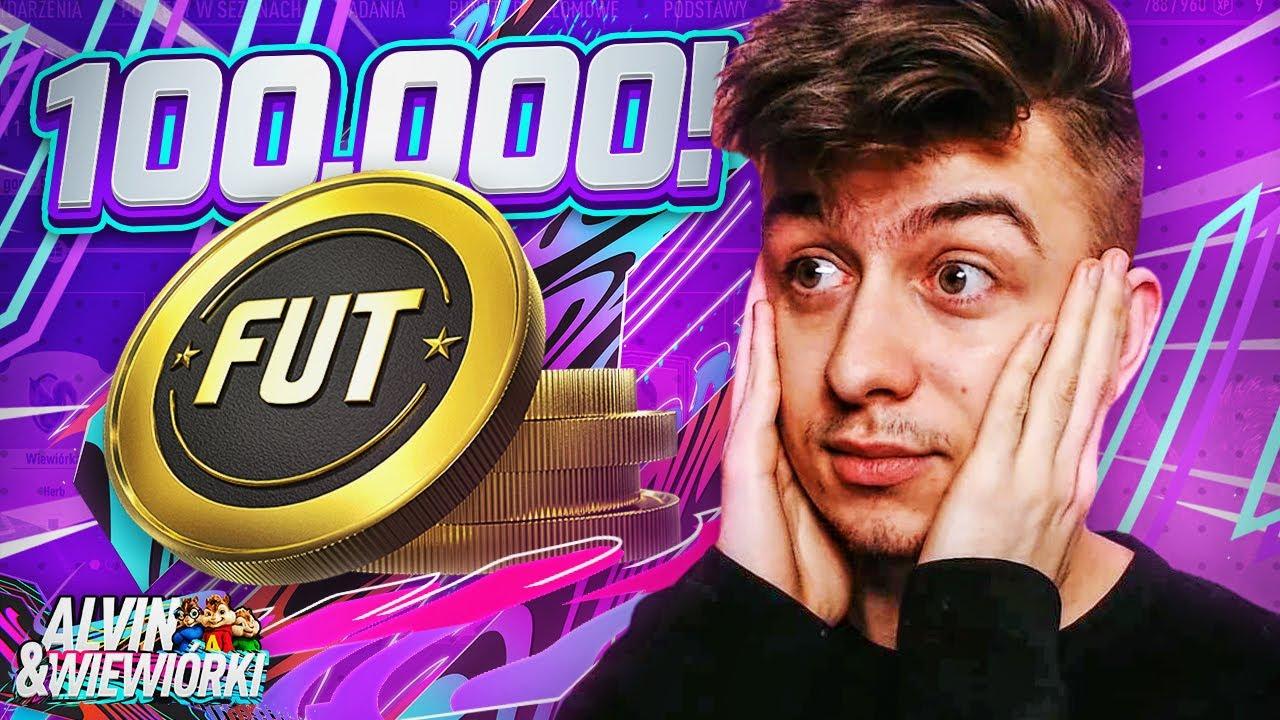 MAMY PONAD 100,000 COINSÓW! FIFA 21: ALVIN I WIEWIÓRKI [#2]