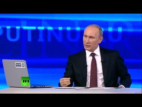 Putin's annual Q&A session 2014 (FULL VIDEO)