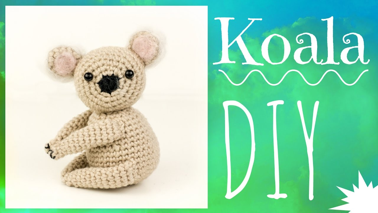 Koala Häkeln Do It Yourself Amigurumi Youtube