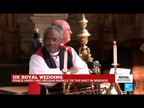 US Royal Wedding: Most Rev Michael Curry, presiding bishop and primate of the Episcopal Church