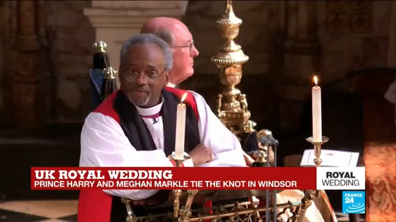 Black Preacher At Royal Wedding.African American Pastor Fires Up Royal Wedding With Love Sermon